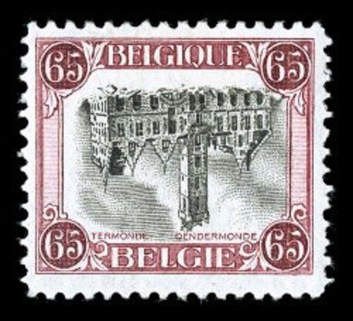 Block 49 Briefmarken Europa Freundlich Belgien Gestempelt 2x Minr