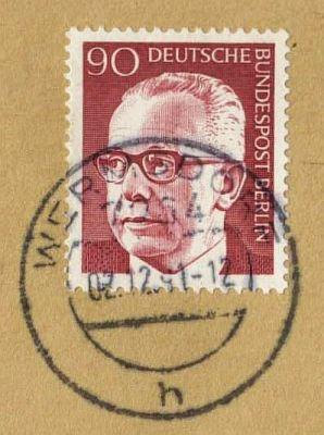 Berlin Dauerserie Gustav Heinemann