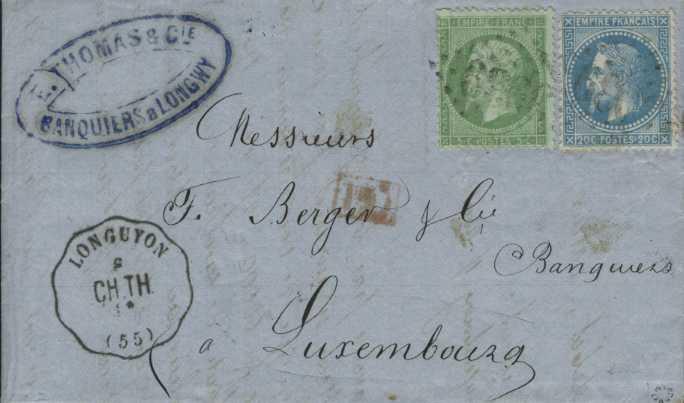 Philaseitende Frankreich Gestempelte Marken Und Belege Bis 1900