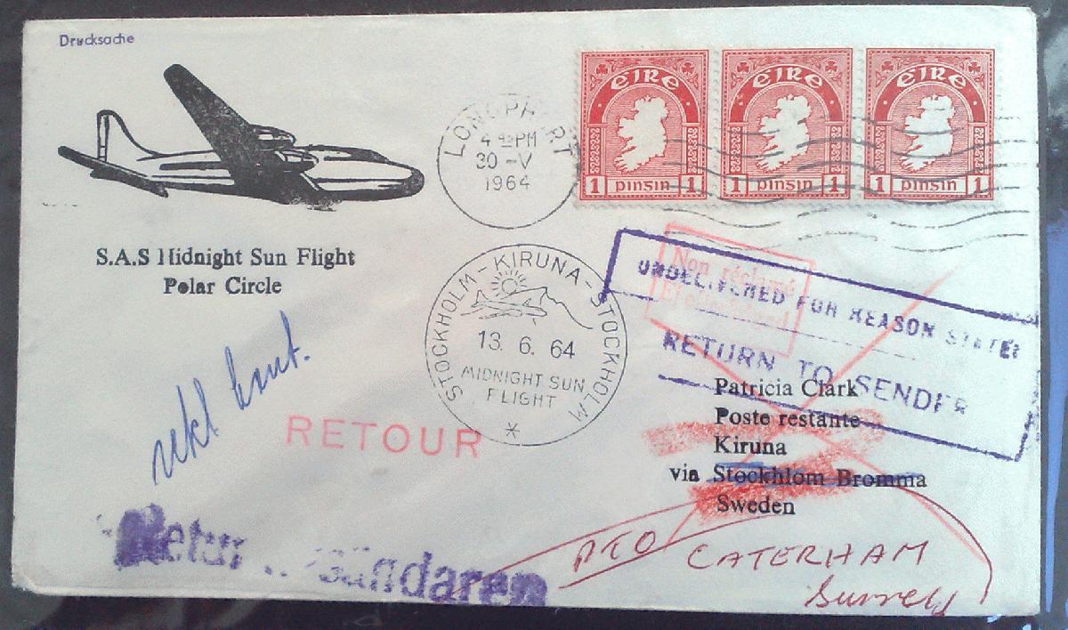 Briefe Nach Irland : Philaseiten irland briefe bestimmen