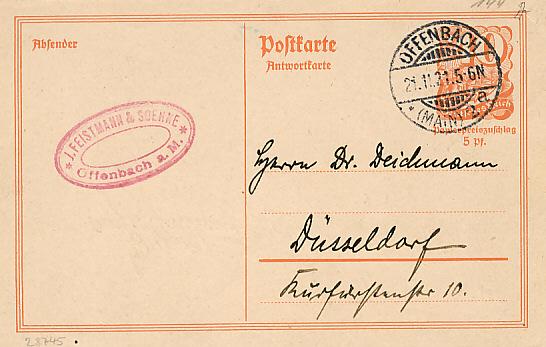 deutsches reich postreiter ganzsachen 1921 und 1922 ohne zusatzfrankatur. Black Bedroom Furniture Sets. Home Design Ideas