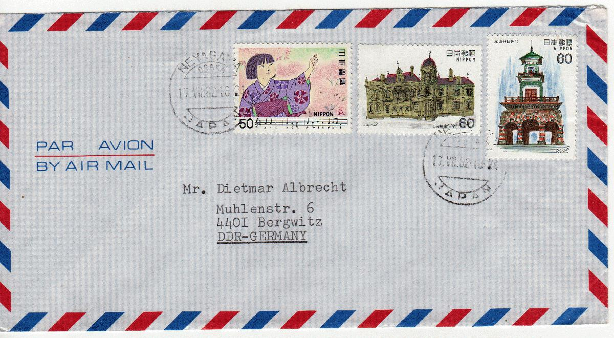 Briefe Nach England Schicken : Brief nach japan bürozubehör