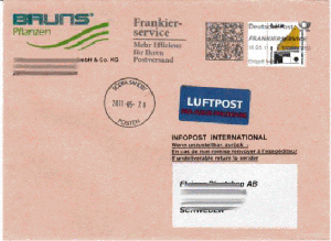 Porto Standardbrief Schweiz Deutsche Post Gutschein Für Sanicare