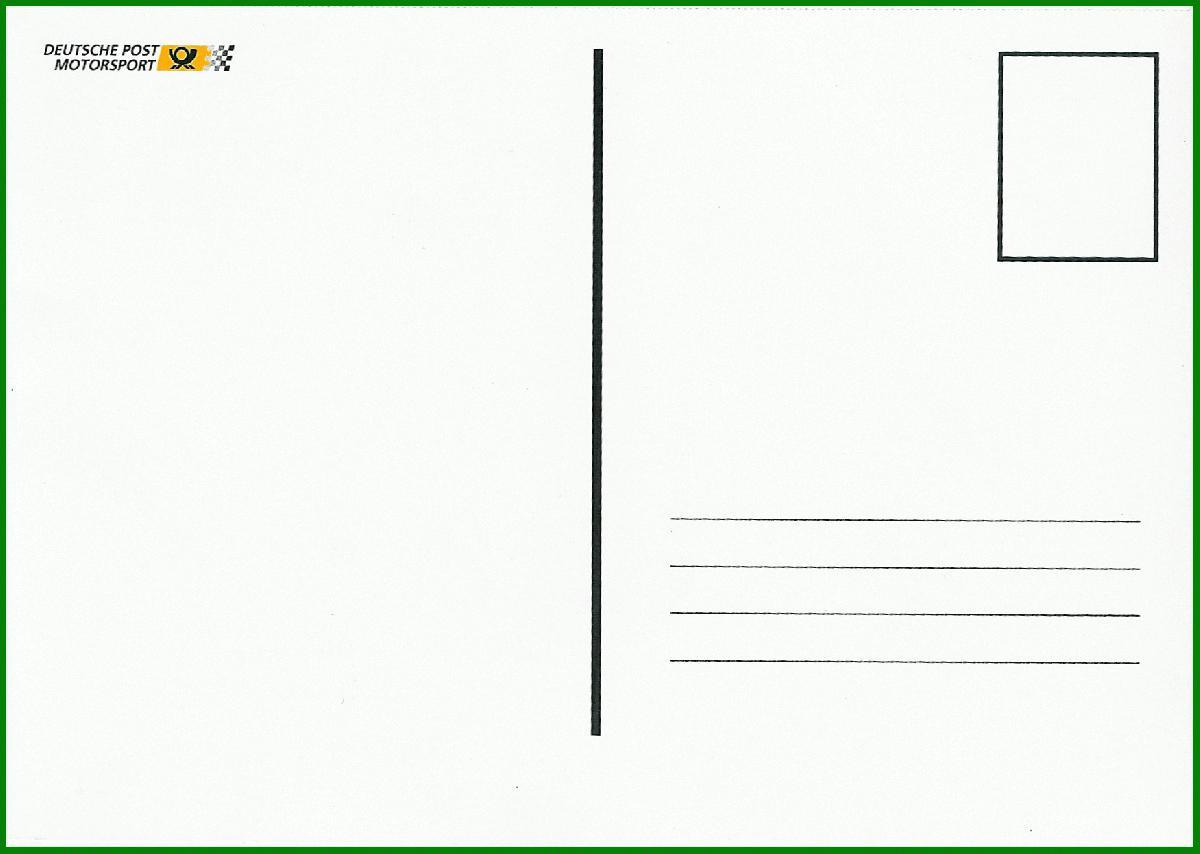 Dpag promotionaktionen werbepostkarten - Blanko postkarten ...