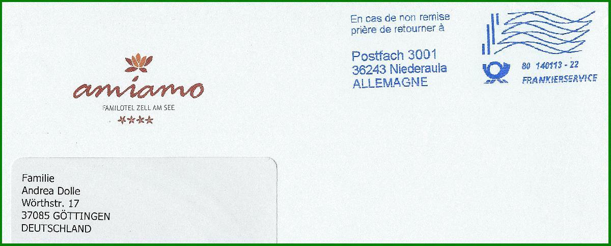 Brief Oesterreich Nach Deutschland : Philaseiten moderne postgeschichte internationales