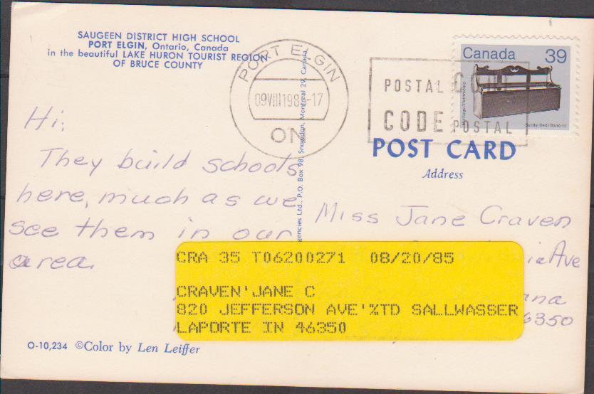 Kanadische stempelgeschichte die - Port de bouc code postal ...