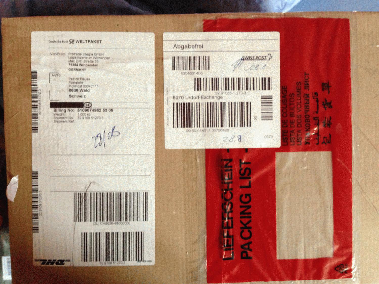 internationale pakete aufkleber labels. Black Bedroom Furniture Sets. Home Design Ideas
